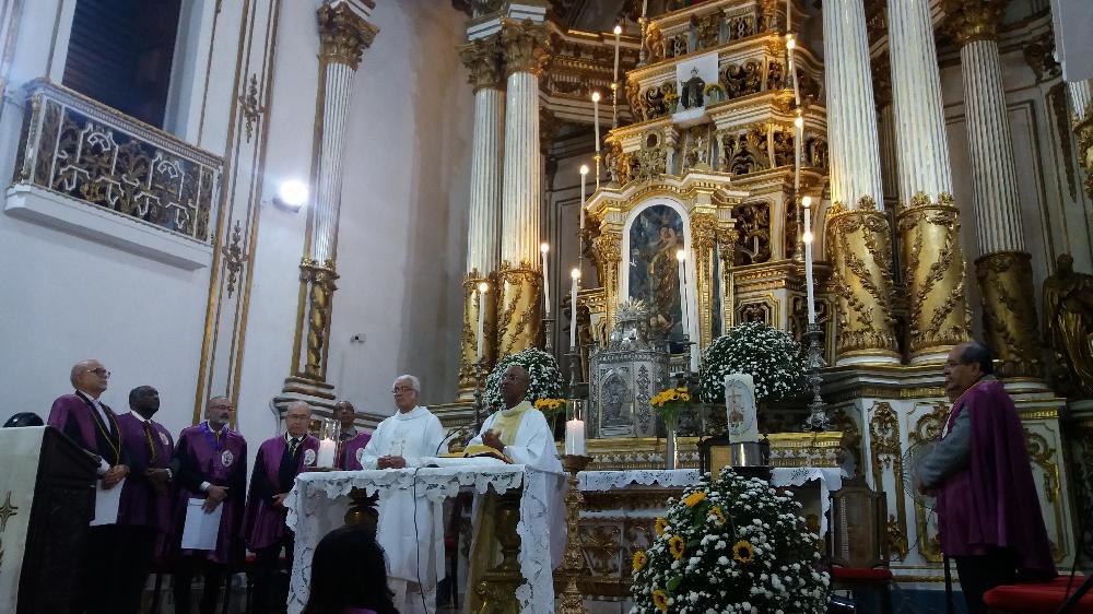Fiéis celebram primeiro dia do tríduo em louvor a São Gonçalo do Amarante