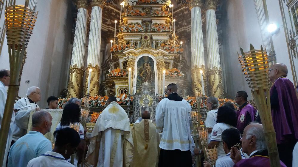 Emoção e fé marcam terceira noite da Novena da Festa Jubilar do Senhor do Bonfim