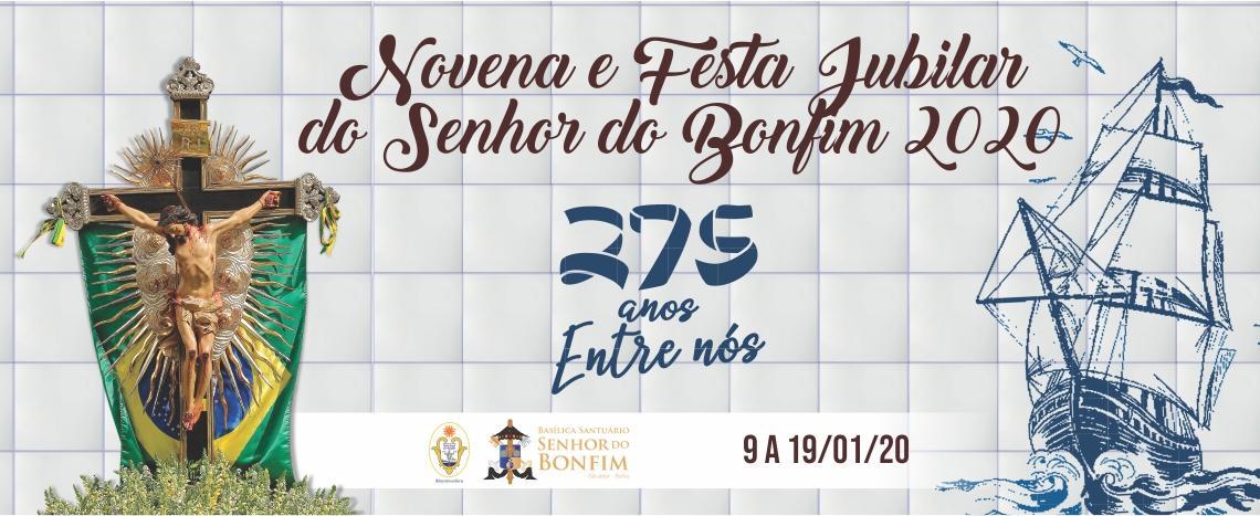 Festa do Senhor do Bonfim marcará as comemorações pelos 275 anos da chegada da imagem a Salvador