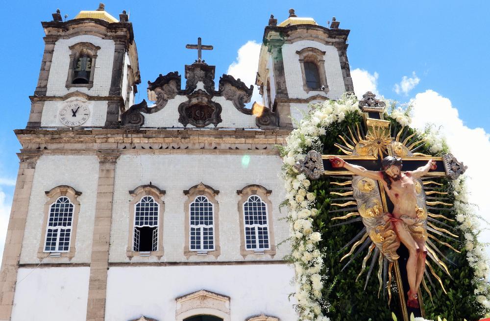 Basílica do Bonfim divulga novos horários de Missas e de funcionamento