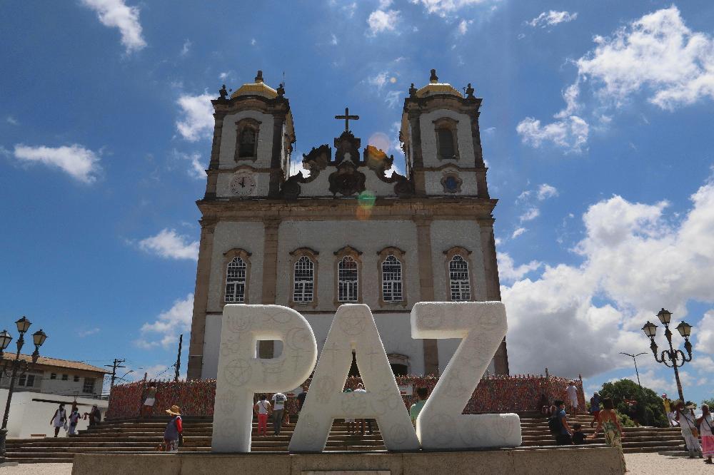 Basílica do Bonfim realiza ação em favor da paz entre as religiões